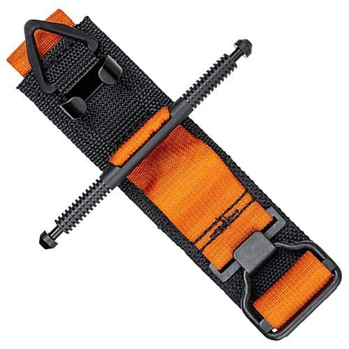 Tactical Medical Solutions SOFTT-W Generation 4 Tourniquet with Windlass and Retention Clip Rescue Orange