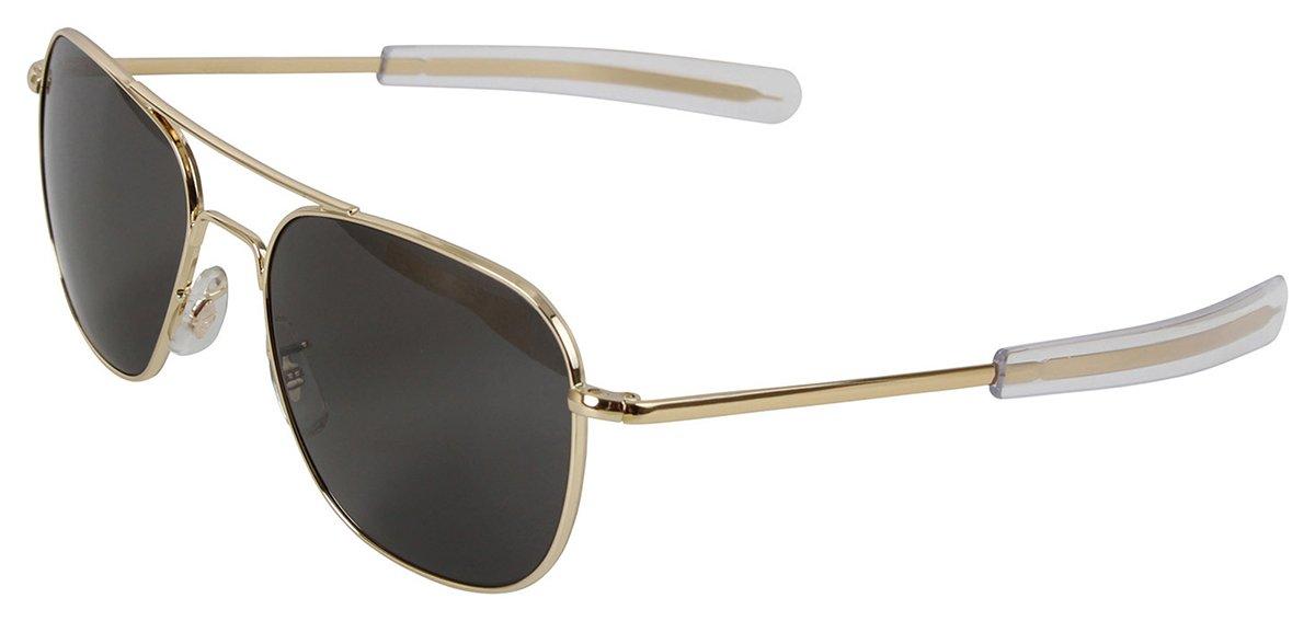 Amazon.com  Rothco 55mm AO Original Pilot Sunglasses CE in Gold  Shoes 8ca267c40e0