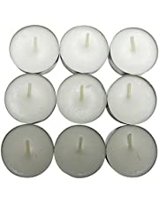 CandleNScent Paraffin Free Tealight Candles – Unscented Tea Lights –for Wedding Centerpiece, Floating Vase, Votive Holders & More –– (Set of 30)