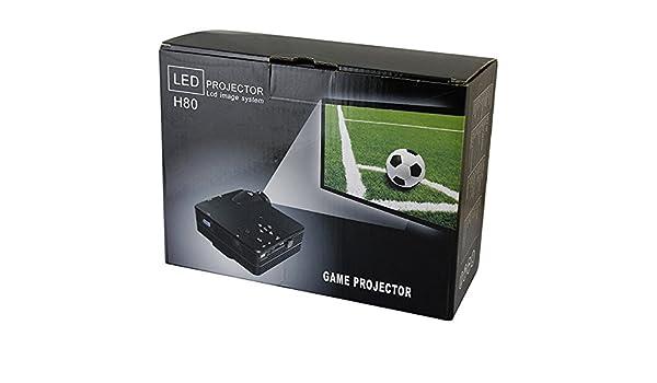 Sistema de cine en casa Cine H80 LCD Imagen 24W 100 pulgadas 80 ...