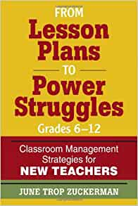 Classroom Management Plan for Grades 7-12