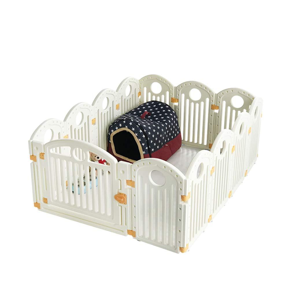 12+1 Pet Playpen Pet Play Pen Dog Puppy Cage Folding Run Fence Garden Crate Indoor Outdoor 62 Cm High (Size   12+1)