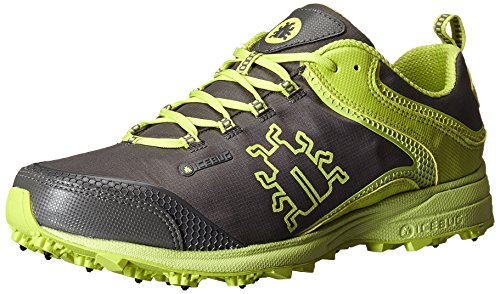 Icebug Men's Aurora BUGrip-M, Grey/Poison, 10.5 M US