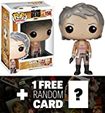 Walking Dead Carol Peletier: Funko POP! x Vinyl Figure + 1 Free Official Trading Card Bundle [46798]