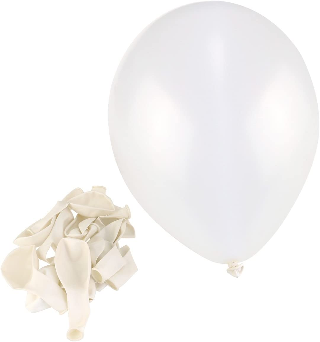 NUOLUX Latex Balloons,12 inch Red White Blue Balloons for Party,100pcs