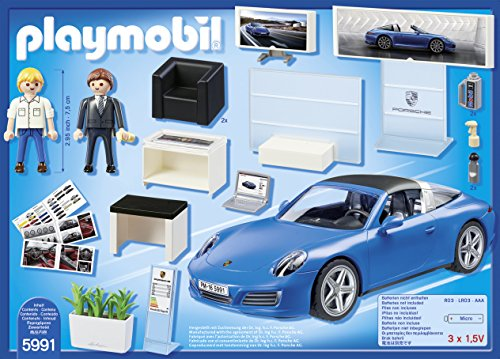 playmobil porche porsche 911 targa 4s 5991 comprar juguetes para ni os. Black Bedroom Furniture Sets. Home Design Ideas