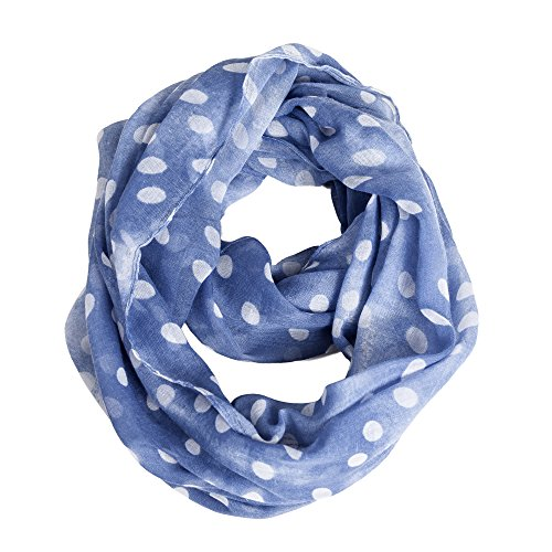 Toddler Girls Infinity Scarf Shawl Wraps Lightweight Scarves for Kids Boys Women by A Sund (dot4)