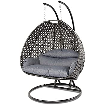 Amazon Com Lexmod The Parlay Rattan Outdoor Wicker Patio