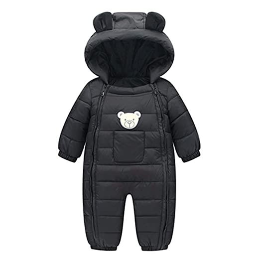 a16ae60439b Amazon.com  Iuhan Clearance Rompers Baby Boys Girls Kids Winter Thick  Cotton Warm Clothes Jumpsuit  Clothing