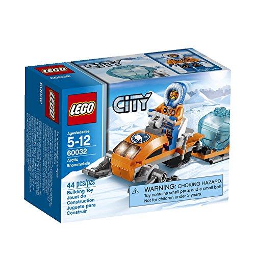 LEGO Arctic Snowmobile 60032 Building