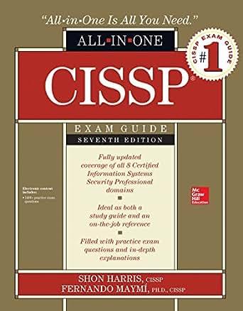 Amazon Com Cissp All In One Exam Guide Seventh Edition Ebook Shon