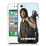 Official AMC The Walking Dead Daryl Crossbow Filtered Characters Hard Back Case for Apple iPhone 4 / 4S