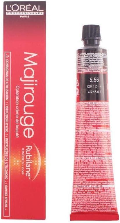 Majirouge Coloración permanente en crema para el cabello 5.56 50 ml