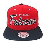 Mitchell & Ness Atlanta Falcons 2 Tone Script Snapback Hat Adjustable