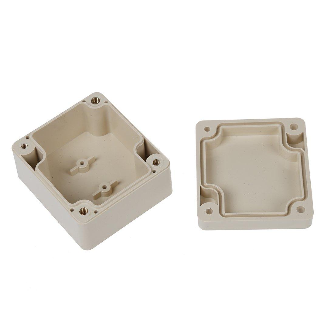Cikuso 65mm x 58mm x 35mm Waterproof Plastic Enclosure Case DIY Junction Box