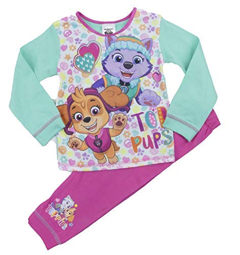 Girls Character Pyjamas Princess Little Mermaid Tinkerbell Minnie My Little Pony (Girls Paw Patrol, 18-24 -