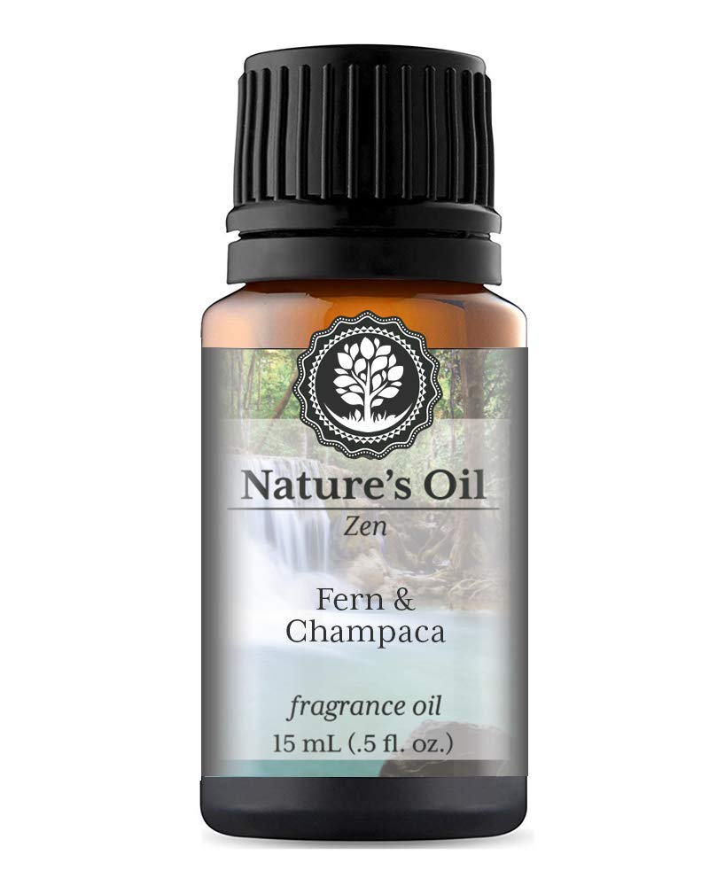 Fern & Champaca Fragrance Oil (15ml) For Diffusers, Soap Making, Candles, Lotion, Home Scents, Linen Spray, Bath Bombs, Slime