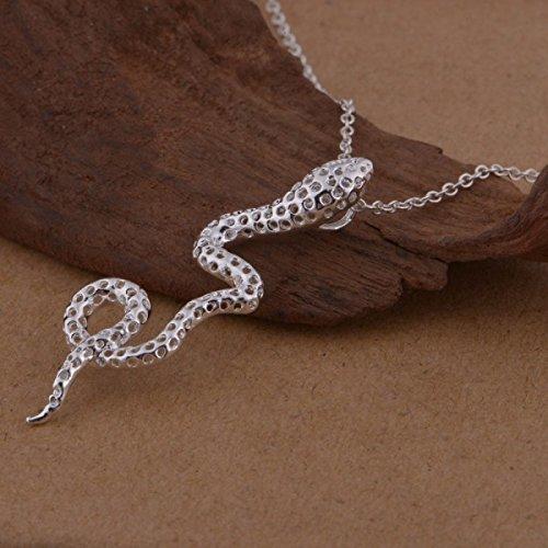 Collier serpent argent 925