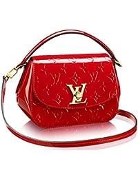 Authentic Louis Vuitton Monogram Vernis Pasadena Cross Body Handbag Article: M90944 Cherry Made in France