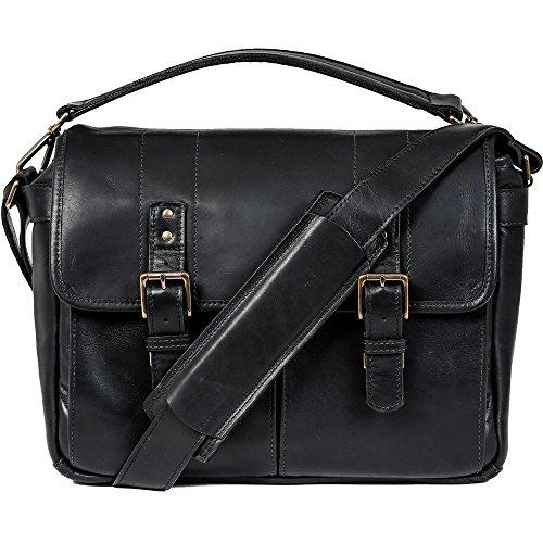ONA - The Prince Street - Camera Messenger Bag - Black Leather (ONA5-024LBL)