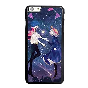 Wunatin Hard Case ,iPhone 6 6S 4.7 inch Cell Phone Case Black Howl's Moving Castle [with Free Tempered Glass Screen Protector]5691265303996