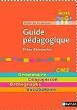 Par mots et par phrases CM2 by Nadine Robert (2008-07-03)