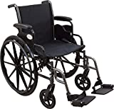 """Roscoe Medical W32016S Reliance III Wheelchair with Swing Away Footrests, 20"""""""
