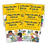 Finger Phonic Big Books: In Percursive Letters (Jolly Phonics) Set 1-7 (Books 1-7)