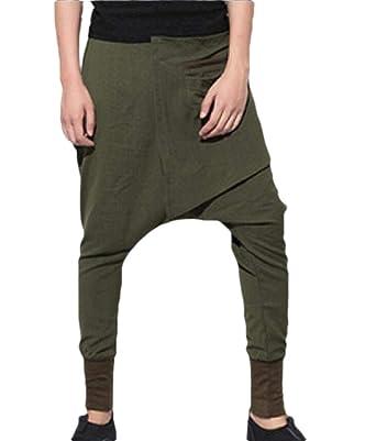 dahuo - Pantalones de chándal de algodón para Hombre 1 3XL: Amazon ...
