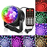 Tools & Hardware : Party Lights Tabiger Sound Activated Disco Ball PartyLights with Remote Control DJ Lights, Led Disco Lights, Strobe Light 9 Modes Stage Light, Karaoke Lights for Kids Birthday Christmas Party Wedding
