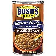 BUSH'S BEST Boston Recipe Baked Beans, Canned Beans, Prime Pantry, 28 oz.
