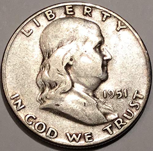 1951 S Franklin Half Dollar Choice Fine ()
