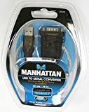 Esaska(TM) 205146 MANHATTAN USB to Serial (RS-232)Converter Cable, Work with Win 7/XP/Vist