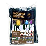 Holiday Joy - Lawn Stakes for Holiday String Lights