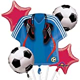 Soccer Bouquet Of Balloons (5 per package)