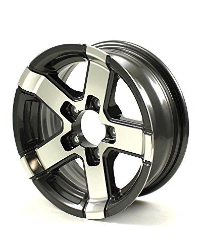13 aluminum trailer wheels - 4