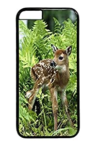 Fawn Animal Custom iphone 6 4.7inch Case Cover Polycarbonate black