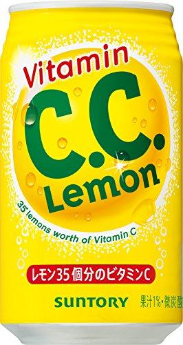Suntory C.C. lemon 350ml ~ 24 this by C.C.Lemon (CC lemon)