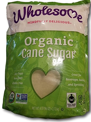 - Wholesome Organic Fair Trade Cane Sugar (6lb)