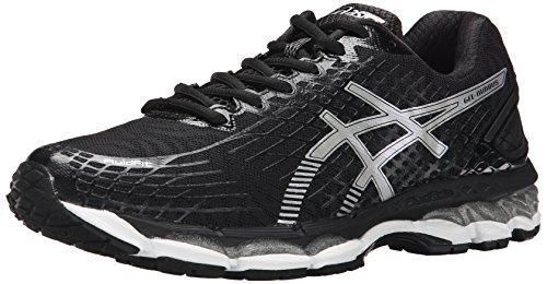 ASICS Men's Gel-Nimbus 17 Running Shoe,Lightning/Black/Flash