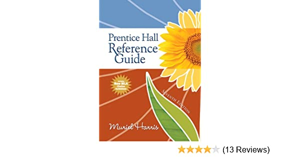 Amazon prentice hall reference guide mla update edition 7th amazon prentice hall reference guide mla update edition 7th edition 9780205735617 muriel g harris books fandeluxe
