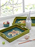 Best Store Indya Gifts For Seniors - Store Indya Set of 2 Coffee Table Trays Review