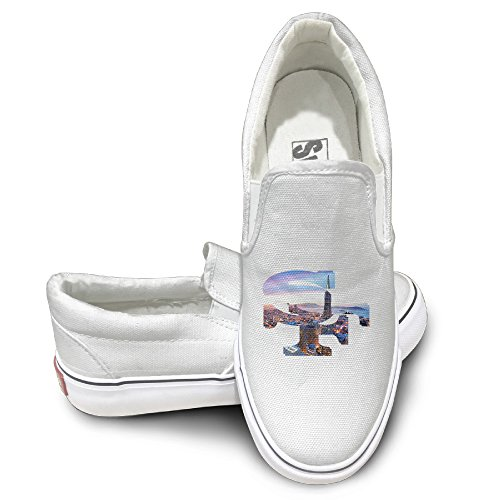 4355907b8d9ea3 Amone Sanfrancisy Fashion Unisex Flat Canvas Shoes Sneaker White 36