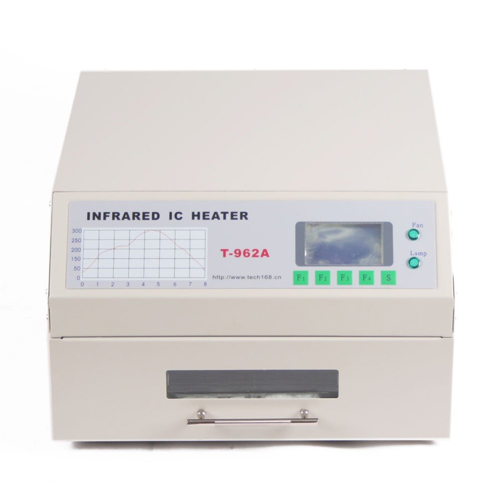 Smthouse T962a Reflow Oven Infrared Ic Heater Soldering Machine Smt 1500w 300 X 320 Mm Smd Bga Automatic