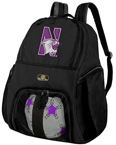 (Broad Bay Northwestern University Soccer Backpack or Northwestern Wildcats Volleyball)