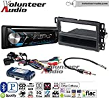 Volunteer Audio Pioneer DEH-S4000BT Double Din Radio Install Kit with Bluetooth, CD Player, USB/AUX Fits 2007-2013 Silverado, Avalanche (Retains steering wheel controls)