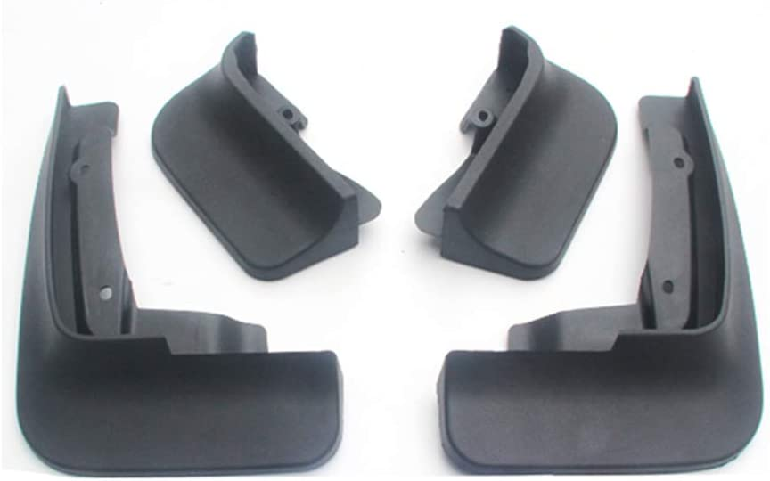 Upgraded Car Mud Flaps Mudguards for VOLKSWAGEN Tiguan 2016-2018 Front Rear Splash Guards Car Fender Styling /& Body Fittings Black 4Pcs