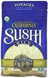 Lundberg Organic Sushi Rice, California White, 16 Ounce (Pack of 6) by Lundberg