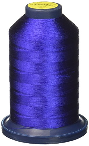Robison-Anton Super Strength Rayon Embroidery Thread, 40Wt/5500 yd, Empire Blue Rayon Mini King Spools
