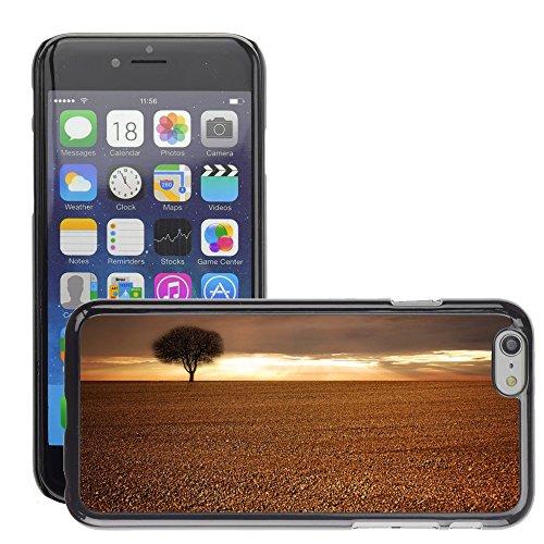 "Just Phone Cases Hard plastica indietro Case Custodie Cover pelle protettiva Per // M00421718 Paysage, Champ, agricole, Arbre, Ciel // Apple iPhone 6 6S 6G PLUS 5.5"""